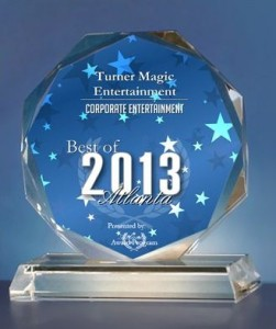 Turner Magic - Best of Atlanta 2013 - Corporate Entertainment