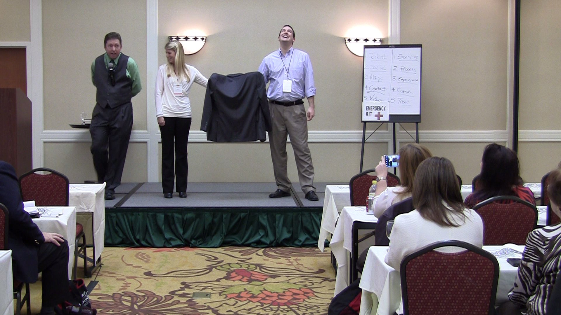 Fun moments at conferences don't have to be wasteful - you just have to work with the provider to ensure that objectives are consistent.