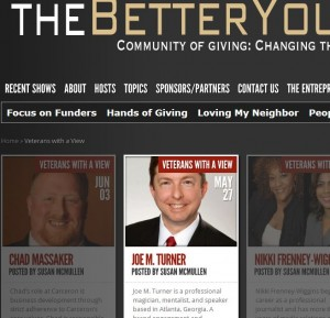 Atlanta speaker, magician and mentalist Joe M. Turner recently appeared on The Better You Network.