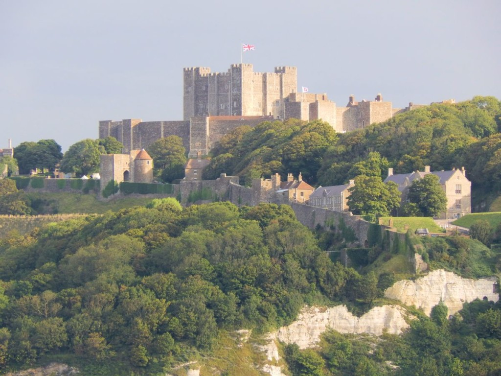 Dover is a port that many cruisers skip, but it's worth the effort to walk up to the castle.