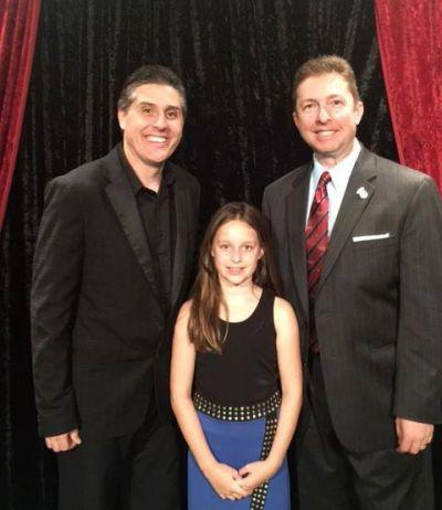 Erick Olson, Lydia Coomes, and Joe M. Turner at Wizardz Magic Theater.