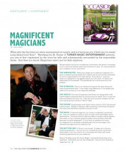 Atlanta Magician | Weddings | Occasions Magazine
