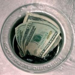 Money down the drain!