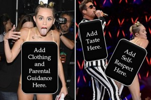 Miley Cyrus got the world talking, but did she strengthen her brand?  It depends.