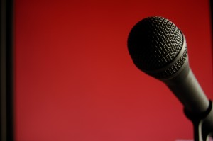 Microphone: This important communication tool isn't as scary as you think. Plan for it and be ready to use it.