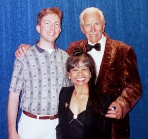 With John and Tammy Calvert in 2002