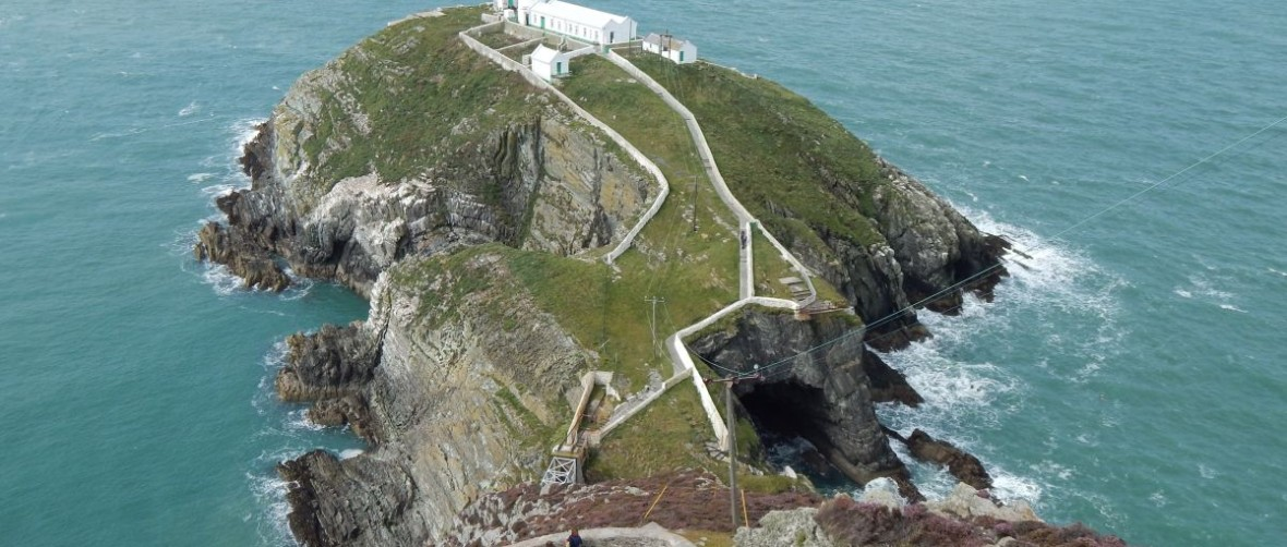 You won't make it to the South Stack Lighthouse without serious effort, but the rewards are worth the hike!