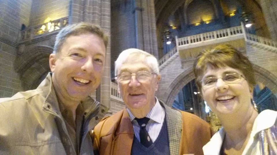 Our visit to Liverpool Cathedral was made unforgettable by Brian Jackson, who was observant and attentive.