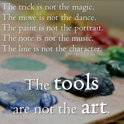 tools-not-art