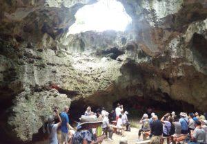 Hina Cave at the Oholei Beach Resort is a don't-miss attraction in the Kingdom of Tonga.
