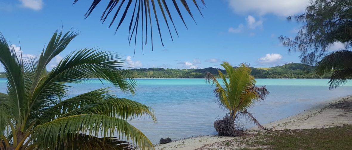 The island of Aitutaki features what may be the planet's most beautiful lagoon, much of which is less than knee-deep.