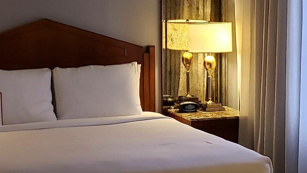 Interior of room at Millennium Biltmore Hotel